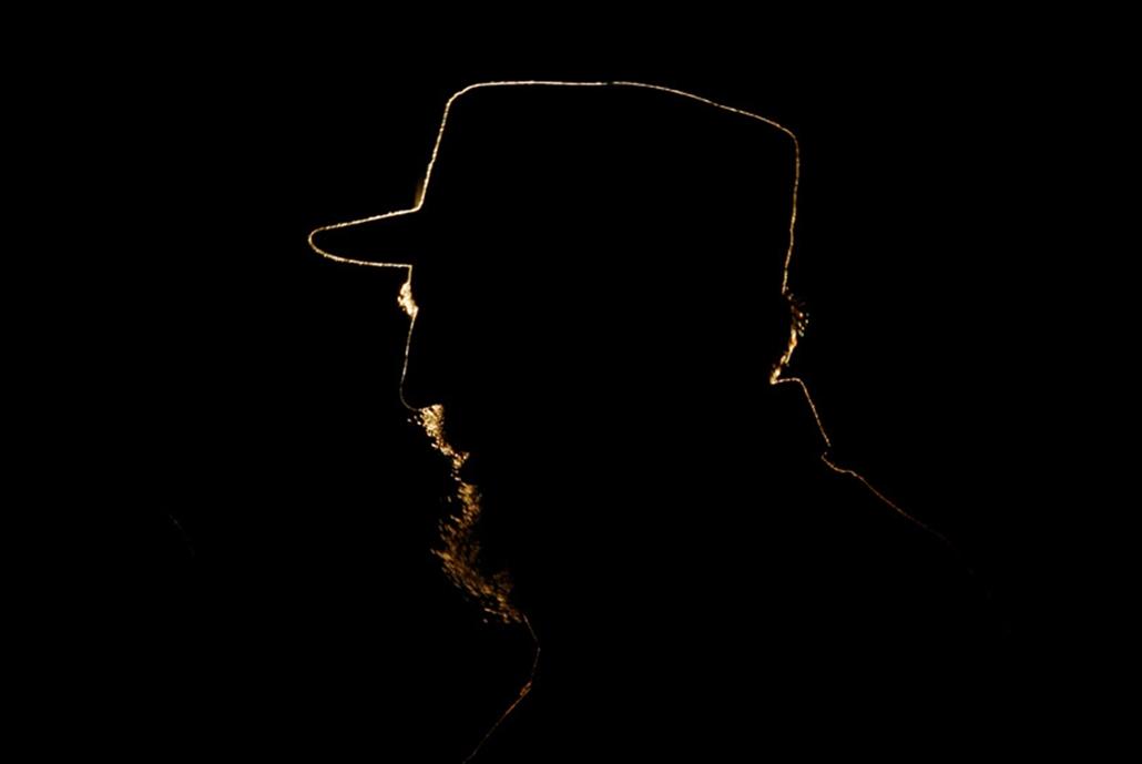 Fidel Castro kubai elnök Havannában 2006. február 3-án.
