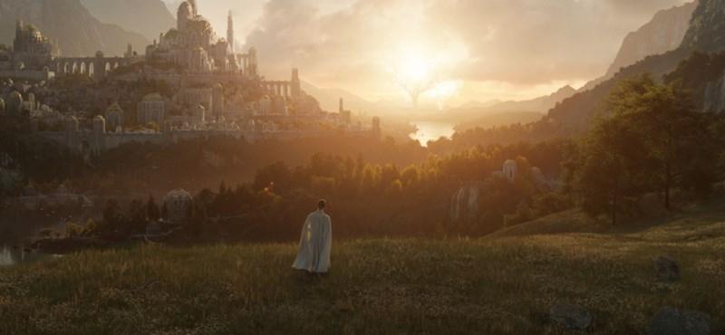 En lugar de Nueva Zelanda, El señor de los anillos se está filmando en Gran Bretaña.