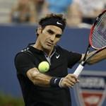 Nagyszerűen gyógyul Federer térde, így hamarabb visszatér