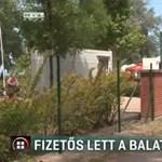 Eggyel kevesebb ingyenes strand lesz júliustól Balatonföldváron