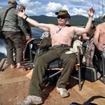 Vetkőzőhullámot indított a félmeztelen Putyin hatására az orosz Zuckerberg – fotók