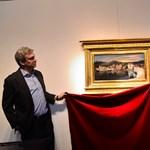 Fotó: Szenzációs Csontváry-festményt lepleztek le