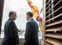 Gruevszkiről kérdezték Orbánt, egy mondatban válaszolt