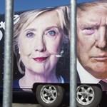Hillary Clinton trollkodott kicsit Donald Trump kárára