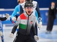 Liu Shaoang aranyérmet szerzett a debreceni rövidpályás gyorskorcsolya-Eb-n