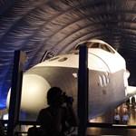 Kiállították az Enterprise űrrepülőgépet