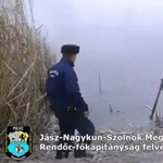 Így menjen a jégre, hogy ne szakadjon be - bónusz rendőrös akcióvideóval