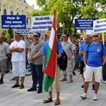 Hódmezővásárhelyen tüntetett a TMRSZ