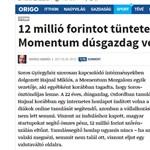 A MÚOSZ-nál is kiverte a biztosítékot a momentumos Origo-cikk
