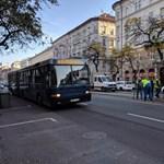 Pályahiba miatt bénult le a nagykörúti villamosközlekedés a reggeli csúcsban