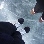 Bezárnak a balatoni jégpályák