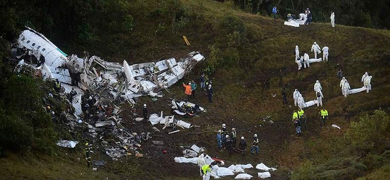 Megvan a brazil csapattal lezuhant gép feketedoboza