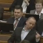 Szanyi Tibor nemcsak joggal intett be a parlamentben, de még pénzt is kap érte