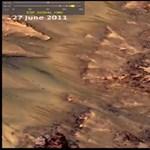 Homokot néztek víznek a kutatók a Marson?