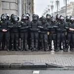 Komoly megmozdulásra készül a fehérorosz ellenzék, a karhatalom erőket von össze Minszkben