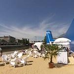 Tel-Aviv strand nyílt Bécsben - magyar dizájner tervezte