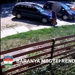 Nyolc autót karcolt össze kulcsaival egy asszony Pécsen