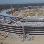 Már nincs sok idő hátra: most itt tart az Apple új campusának építkezése