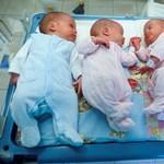 Szépen gyarapodnak, hazamehettek a debreceni négyes ikrek – fotók