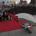 Benyújtotta az ENSZ-tagfelvételi kérelmet a palesztin elnök