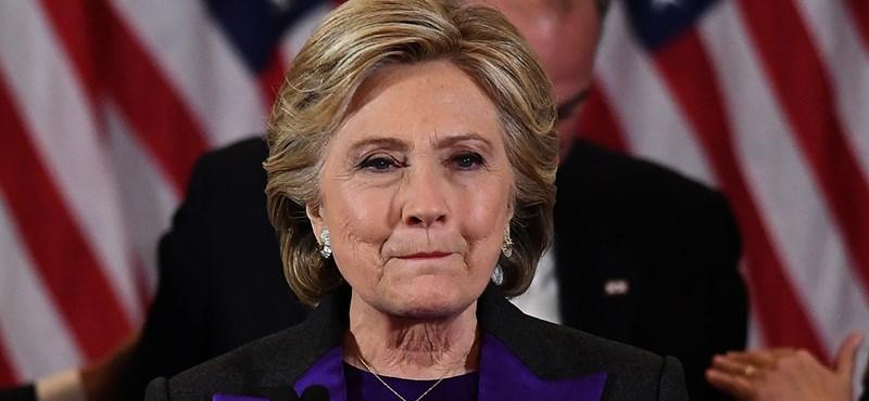 Clinton szerint sokkal jobb elnök lett volna, mint Trump