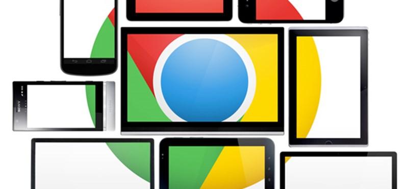 Új mérföldkő a Chrome böngésző életében