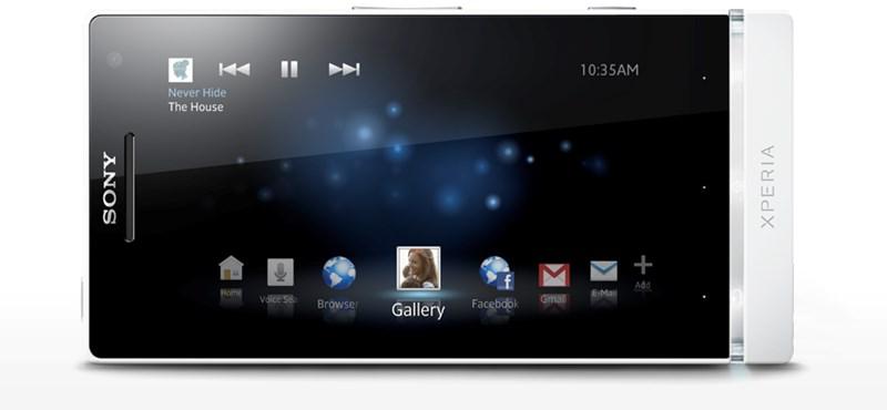 Kipróbáltuk: Sony Xperia S - szinte tökéletes!