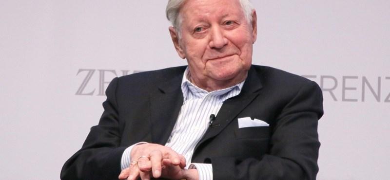 Meghalt Helmut Schmidt