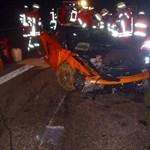 Halállal végződött a Lamborghini és a Mercedes közúti versengése – fotók