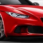 Jön a gyönyörű Alfa Romeo 6C: Az olaszok nem felejtettek el rajzolni