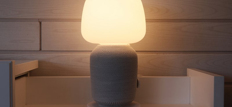 Fényes szimfónia: teszten az IKEA okoshangszórós lámpája