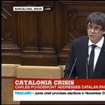 Belengették Katalónia függetlenségét és azonnal fel is függesztették
