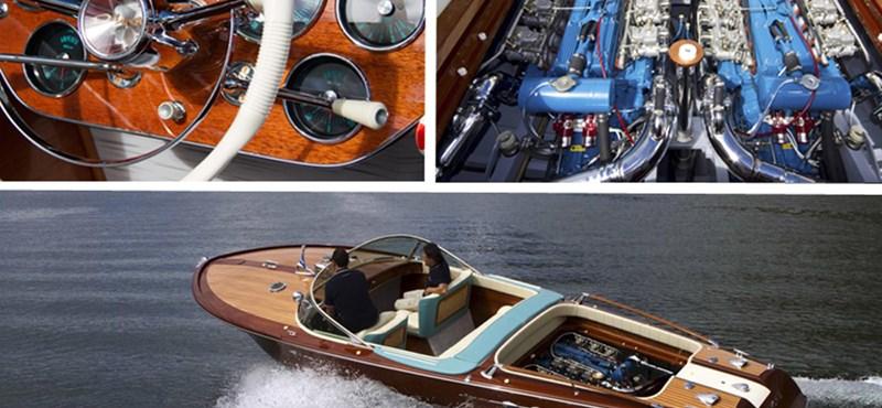 Lamborghini egyből két V12-es motort rakott hajójába