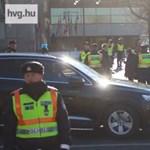 """""""Rendőrök vannak mindenütt, nem engednek át"""" – blokád alatt Budapest"""