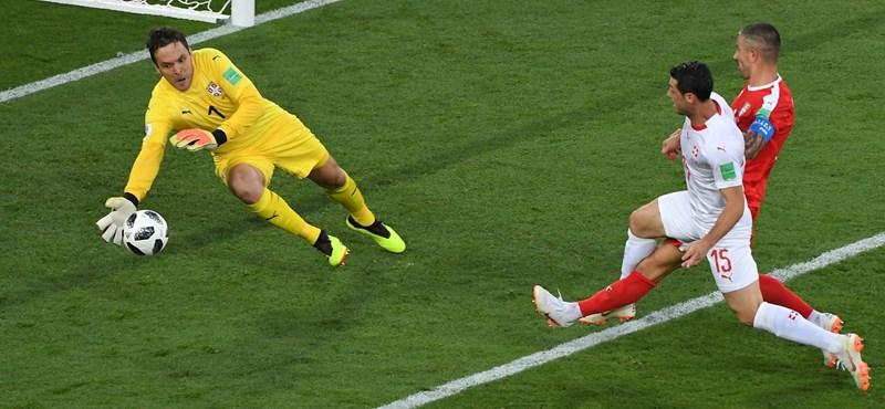 Szerbia-Svájc 1-2 – élő