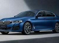 Megérkezett a frissített 5-ös BMW hosszított változata