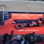 Itt a legfiatalabb Forma-1-es pilótáknak készített Toro Rosso