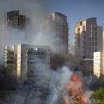 Szinte egész Izraelben tűz van