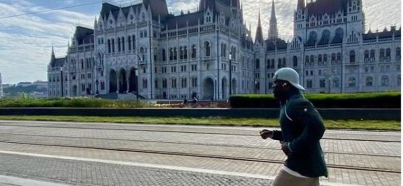 Kevin Hart también ha llegado a Budapest