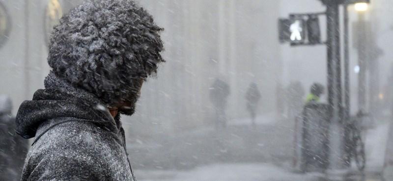 Már halálos áldozatai is vannak a sarkvidéki hidegnek Amerikában