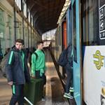 Az M1 híradója szerint migránsok zaklatták a győri vonat utasait