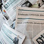 Már a címlapon hirdetik: a G-nap évfordulóján vált nevet a Magyar Idők