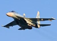 Gyakorlatozás közben lezuhant egy vadászrepülő Ukrajnában