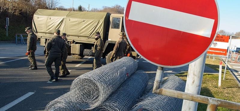 Hétfőtől a szlovénok is szigorítanak a belépésen