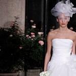 A világ legszebb menyasszonyi ruhái – sok képpel