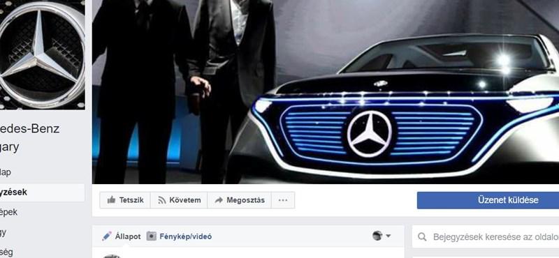 Már 20 ezren követik a kamu Mercedes-sorsolást