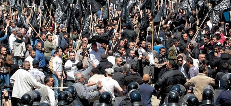 Milliós tömegek vonultak az utcára Libanonban