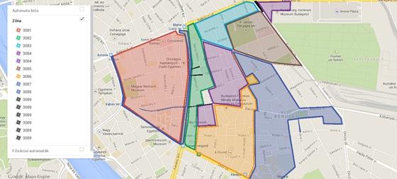 budapest parkolóház térkép Autó: Márciustól szinte mindenhol fizetős a parkolás  budapest parkolóház térkép