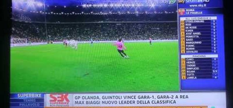 A Juventus kiütötte a Romát - videó