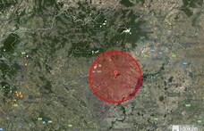 Kisebb földrengés volt a Heves megyei Tenknél